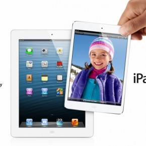 Apple iPad mini promo shot