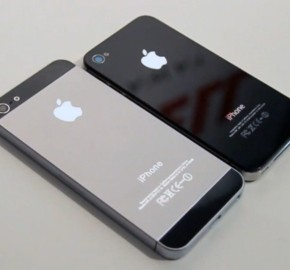Apple iphone 5 and 4 size comparison 570
