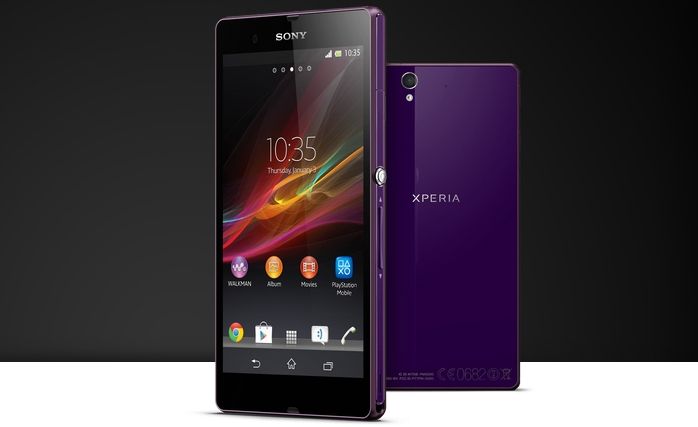 Sony Xperia Z on pre-order at Three 3