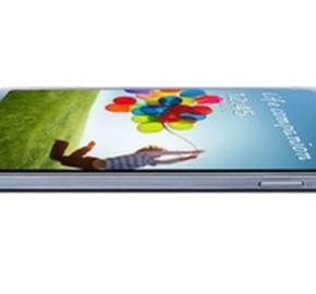 Samsung GALAXY S 4  black side view 570