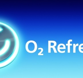 O2 Refresh blue logo bubbles 570