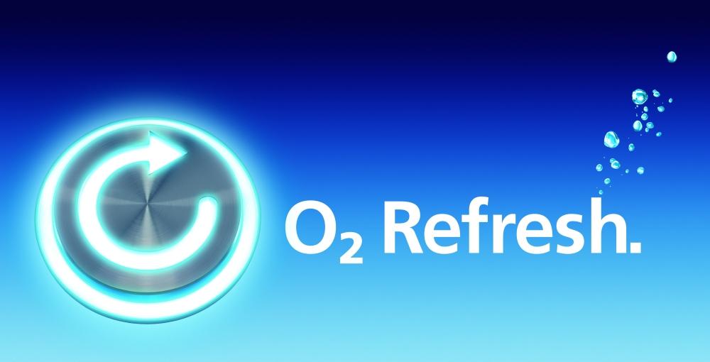 O2 Refresh logo