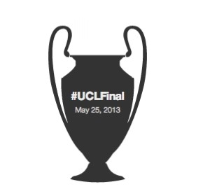 UEFA Champions League Final - A visualization from Twitter games goals tweets 570